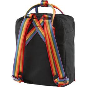 Fjällräven Kånken Rainbow Mini Mochila Niños, black/rainbow pattern